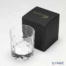 crystal bubble old fashion 290cc glass