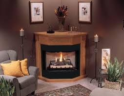 corner fireplace propane gas logs
