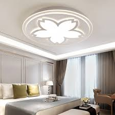 15 75 19 69 Wide Flower Design White Ceiling Light Fixture For Bedroom Kids Room Beautifulhalo Com