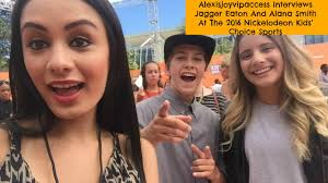Jagger Eaton And Alana Smith Interview - Alexisjoyvipaccess - Nickelodeon  Kids Choice Sports - YouTube