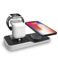 Mangotek Apple Watch Stand Wireless Charger for iPhone and iWatch, 4 i -  Mangotek.com