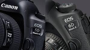 canon eos 5d mark iv vs eos 6d mark ii