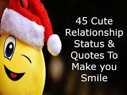 cute relationship status quotes to make you smile