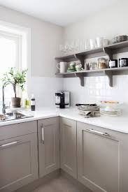 kitchen with white worksurface