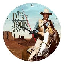 John Wayne The Duke Wood Wall Clock Entertainment Earth