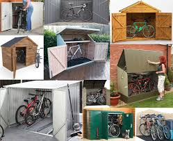 bike storage sheds secure practical
