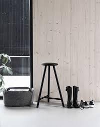 Perch bar stool by Nikari, design by Wesley Walters and Salla Luhtasela.  Perch bar stool won the first FDS Award design … - Huizen