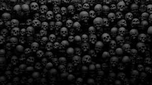 2560x1440 horror skulls scary creepy