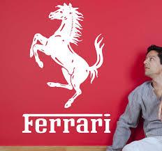 Ferrari Horse Sticker Tenstickers