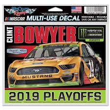 Clint Bowyer Wincraft 2019 Monster Energy Nascar Cup Series Playoffs 4 X 6 Multi Use Decal