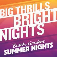 busch gardens summer nights 2018