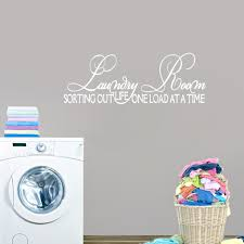 Shop Laundry Room Sorting Out Life Wall Decal 45 X 12 Overstock 10676378