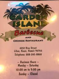 picture of garden island barbecue