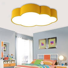 Led Cloud Kids Room Lighting Children Ceiling Lamp Baby Ceiling Light With Yellow Blue Red White For Boys Girls Bedroom Fixtures Buy At The Price Of 76 01 In Aliexpress Com Imall Com