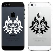 Iphone 4 5 6 Decal Sticker Majora S Mask Zelda Decal Etsy