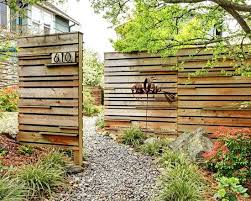 73 Garden Fence Ideas For Protecting Your Privacy In The Yard Fence Landscaping Patio Fence Backyard Fences