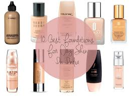 best foundations for dry skin in india
