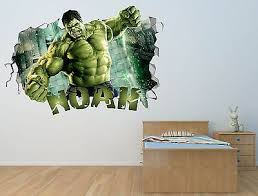 Miraculous Wall Decal Smashed 3d Sticker Decor Vinyl Smash Tales Red Op157