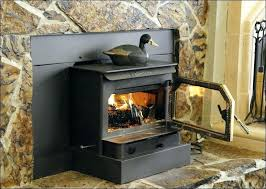 wood burning fireplace inserts cost gas