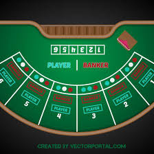 Baccarat game vector image - Free vector image in AI and EPS format.