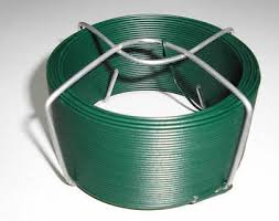 Chain Link Fence Fabric Pvc Coated Wire Decorative Plastic Coated Tie Wire