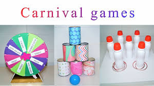 party decorations diy carnival games