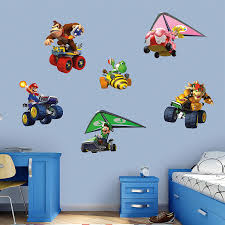 Amazon Com Fathead Mario Kart Collection X Large Officially Licensed Nintendo Removable Wall Decal Home Kitchen