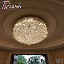 crystal project ceiling lamp whit lobby