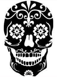 Sugar Skull Day Of The Dead Wall Car Truck Window Laptop Vinyl Decal Sticker Ebay