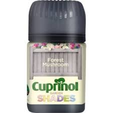 Cuprinol Garden Shades Forest Mushroom Matt Garden Wood Protector 50ml Tester Pot Image 1 Cuprinol Garden Shades Cuprinol Purple Pansy