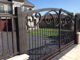 48 Steel Gate Design Idea Is Perfect For Your Home Wrought Iron Driveway Gates Wrought Iron Gate Designs Iron Gate Design