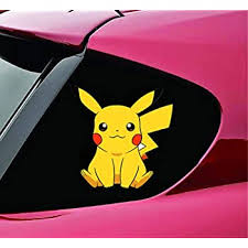 Amazon Com Umbreon Character Silhouette Vinyl Sticker Car Decal 6 White Automotive