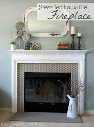 diy fake fireplace fireplace glass