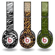 Animal Print Set Of 3 Headphone Skins For Beats Solo Hd Headphones Removable Vinyl Decal Victorystore Http With Images Beats Solo Hd Headphones Beats Headphones Skins