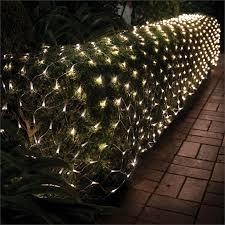 Lytworx 600 Led Warm White Solar Net Lights Bunnings Warehouse
