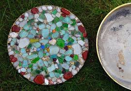diy sea glass projects where colorful
