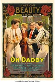 "Oh, Daddy (Mutual, 1915). One Sheet (28"" X 42"").. ... Movie Posters 