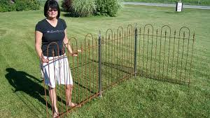 1 5 Square Wrought Iron Fence Post With Cast Iron Finial