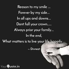 reason to my smile fo quotes writings by divneet kaur