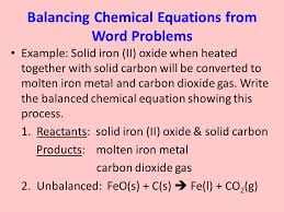 chapter 6 intro to chemical reactions