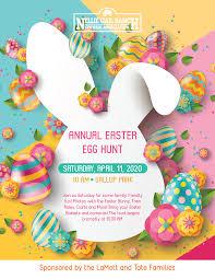 Annual Easter Egg Hunt - 11 APR 2020