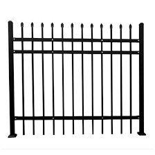 China Factory Direct Supply Fence Used Wrought Iron Fencing For Sale China Railing Cast Iron Fence