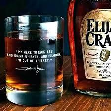 custom etched whiskey glasses