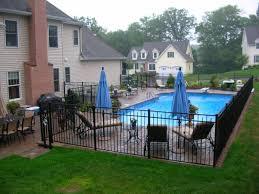 Cozy Inground Pool Landscaping Inground Pool Landscaping Backyard Pool Landscaping Pool Fencing Landscaping