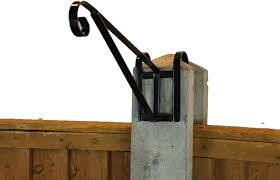 Mygardengreen 2 X Hanging Basket Brackets 4 H Section Concrete Post Top Hook Over Cp27 Amazon Co Uk Garden Outdoors