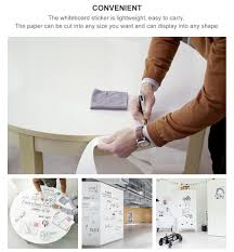 Whiteboard Sticker Dry Erase White Board Self Adhesive Sku Ele0027 Nexus Reno Decor