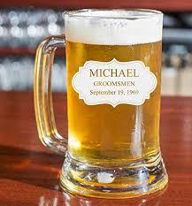 custom engraved beer mug