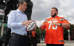 NFL comes to Twickenham: Martin Johnson welcomes American football ...