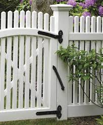 Curve And Straight Strap Hinge Pairs Wood Solid Cellular Pvc And Vinyl Driveway Estate And Walkway Gates From Walpole Outdoors
