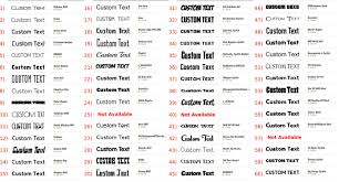 0 5 Custom Vinyl Lettering Stickers Letters Decals Wall Window Car Vinyl Decal